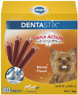 DENTASTIX™ Triple Action Bacon Flavor Small Dog