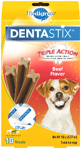 DENTASTIX™ Triple Action Beef Flavor Small Dog