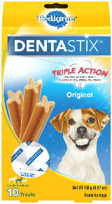 PEDIGREE® DENTASTIX™ Triple Action Original Small Medium