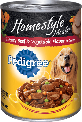 Pedigree Beef And Vegetable Flavour 500gr beef and vegetable flavor canned food pedigree 174