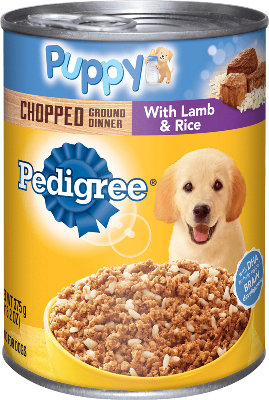 Pedigree Canned Puppy Food Ingredients