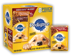 Pedigree Pouch Variety Choice Cuts Chicken Beef Noodles Vegetables