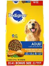 Chicken and Rice Flavor Adult Dog Food