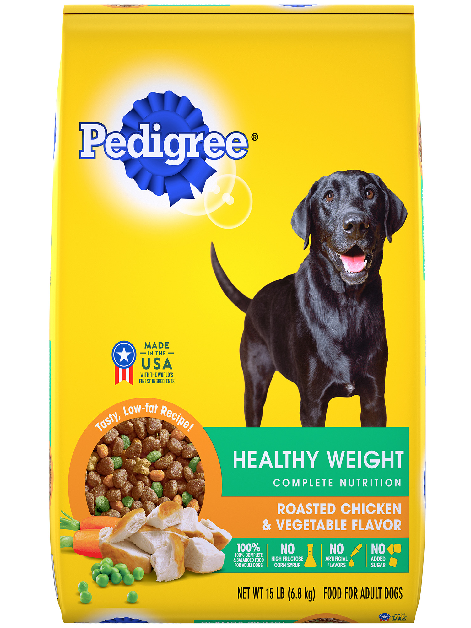 Healthy Weight Dog Food Chicken Flavor Dry Dog Food Pedigree
