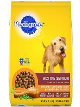 Pedigree_Active_Senior_CompleteNutrition_ChickenRiceVeg_15lbBag