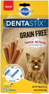 DENTASTIX™ Grain Free Triple Action Small Toy Dog
