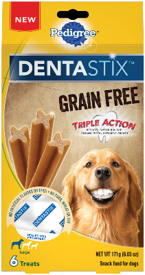 DENTASTIX™ Grain Free Triple Action Large Dog