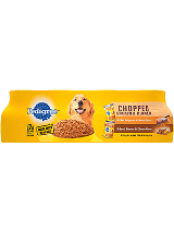 Pedigree Chopped Ground Dinner Combo