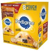 PEDIGREE® CHOICE CUTS™ in Gravy Grilled Chicken Flavor in Sauce & Filet Mignon Flavor Wet Meaty Dog Food Variety Pack FRONT