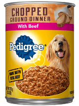 Pedigree Chopped Ground Dinner Beef