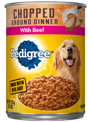 Chopped Ground Dinner Beef In Can
