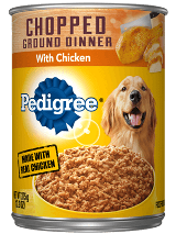 Pedigree Chopped Ground Dinner Chicken Can