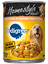 Pedigree Homestyle Hearty Chicken Vegetables