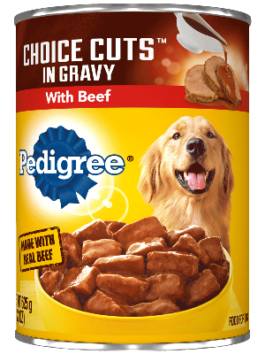 PEDIGREE® CHOICE CUTS™ With Beef Canned Dog Food
