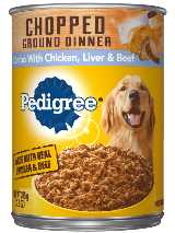 Pedigree_ChoppedGround_ChickenLiverBeef_Can_375g