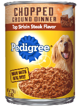 Pedigree_ChoppedGround_Sirloin_Can_375g