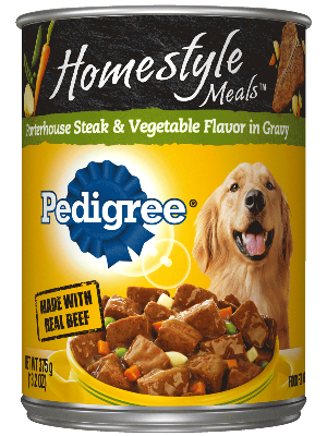 PEDIGREE® Homestyle Porterhouse Steak And Vegetables In Can