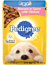 PEDIGREE® Morels In Sauce With Chicken Puppy Food