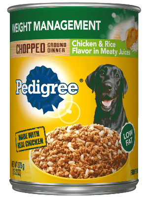 PEDIGREE® Weight Management Dog Food Chicken And Rice